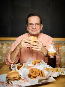 Kevin Bazner, the C.E.O. of A & W Restaurants