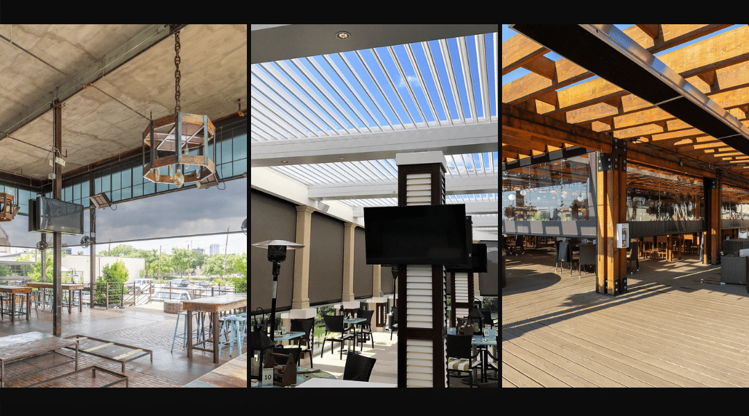 Outdoor Dining Spaces are the New Opportunity!